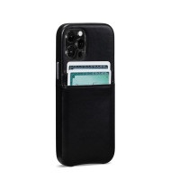 Snap On Wallet Case for iPhone 13 Pro Max - Black