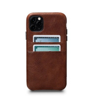 Sena Snap On Wallet Case for iPhone 11 Pro Max - Cognac