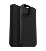 "OtterBox iPhone 13 Pro (6.1"") OtterBox Strada Card Folio Wallet Case - Black"