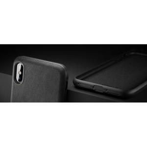 cheap for discount 0c6d9 cb622 Nomad Horween Leather Rugged Case for iPhone XS Max - Black